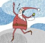 Santa and Headphones