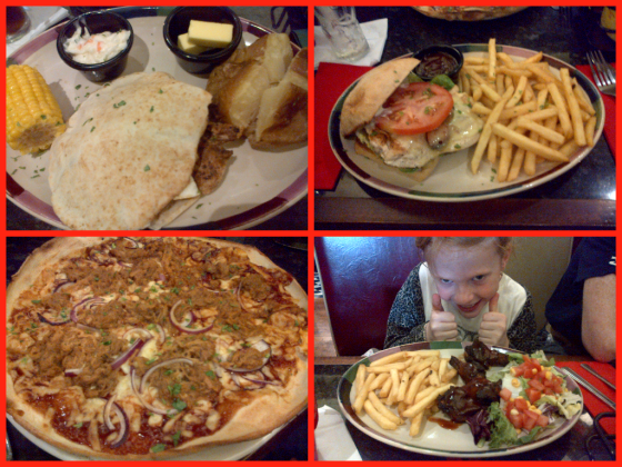 New menu items Frankie and Benny's
