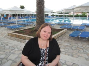 In Corfu during the summer holidays last year
