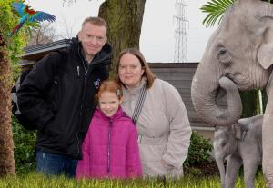 Our official Chester Zoo photograph