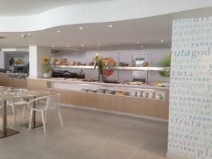 The restaurant at the Fergus Cala Blanca
