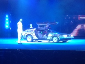 Replica Back to the Future car