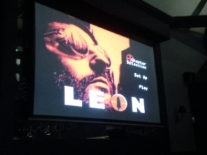 Leon at Chez Jules Cinema Night in Chester