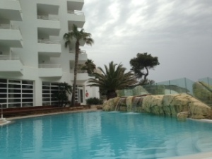 The pool area at the Fergus Cala Blanca